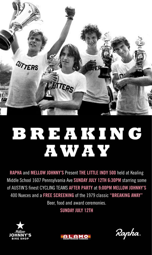 a film analysis of breaking away directed by peter yates Yates began his feature film directing career with 1963's summer  critical  success with the coming of age comedy-drama breaking away.