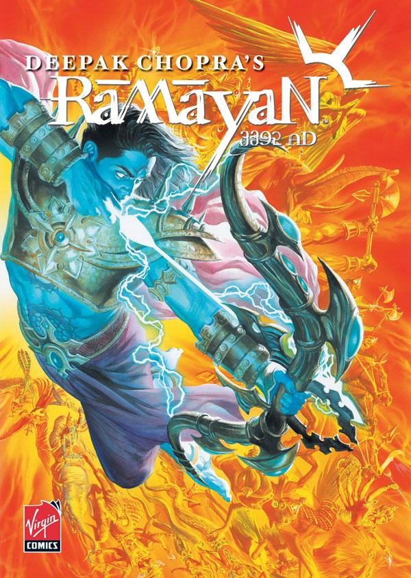 Virgin Comics? Ramayan 3392 A.D.
